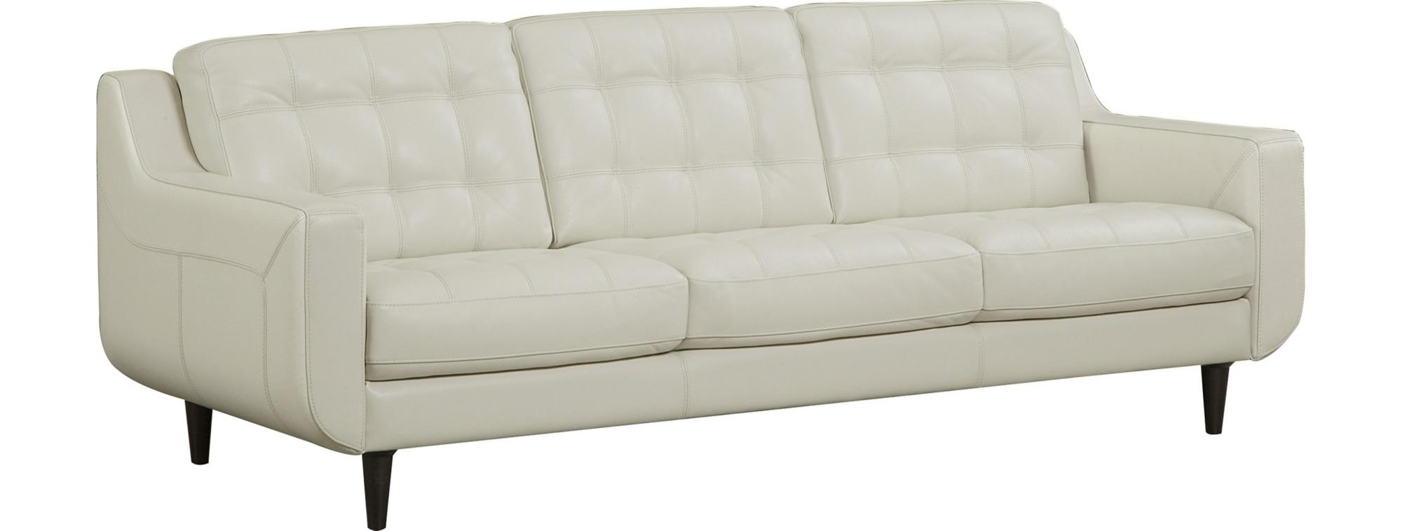 Ledersofa modern beige  Sofas | Havertys