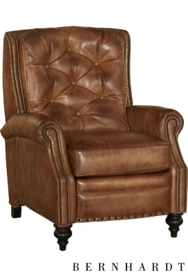 Miller Recliner  sc 1 st  Havertys & Recliner Chairs in Beige Black Brown u0026 Leather | Havertys
