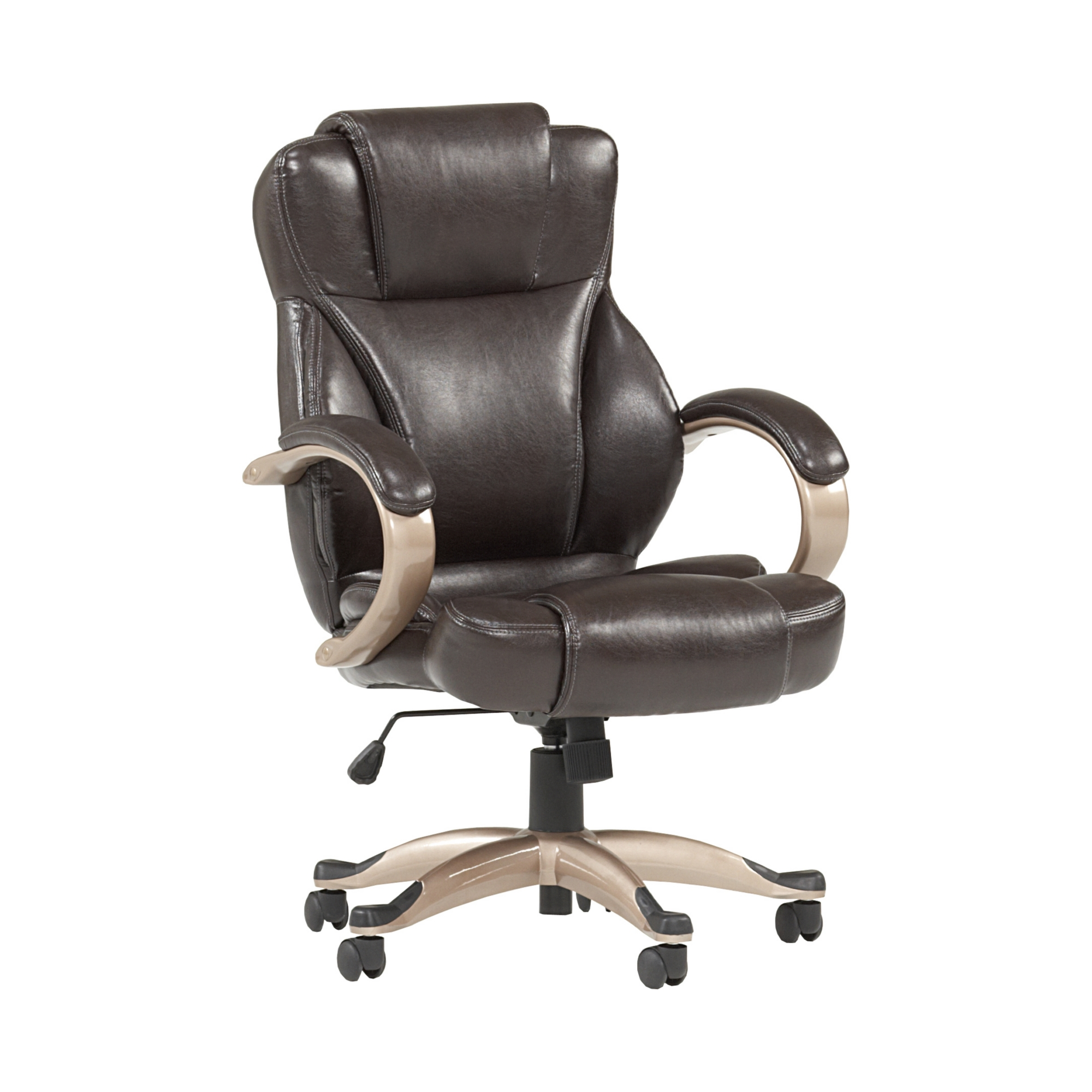 friendly back shipping office and eco bonded cddf today wellness health in free leather chair frye mid overstock home chocolate product motion serta garden