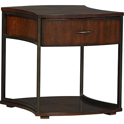 Concave End Table