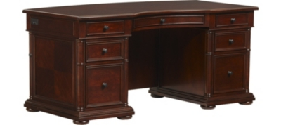 Wood office desk furniture Design Crate And Barrel Desks And Hutches For Your Office Havertys