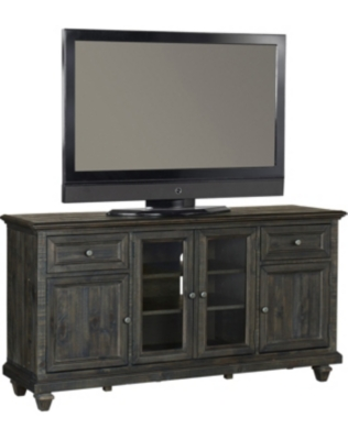 Dark Wood Tv Credenza : Tv stands consoles and cabinets art van home