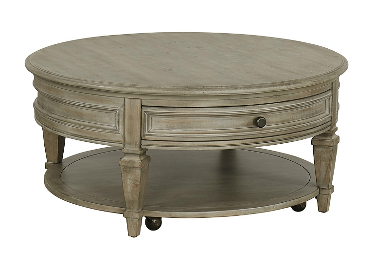 Beckley Round Cocktail Table Find The Perfect Style