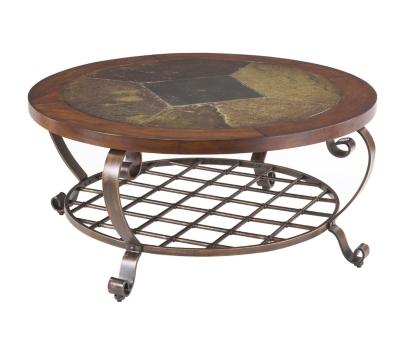main edgewood canyon round cocktail table image