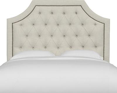 Tessa Queen Upholstered Headboard | Tuggl