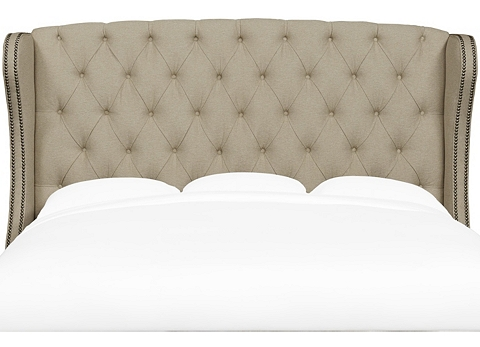Darby King Upholstered Headboard Find The Perfect Style Havertys