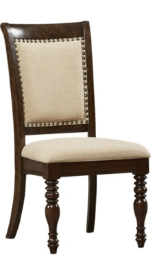 main welcome home upholstered dining chair image