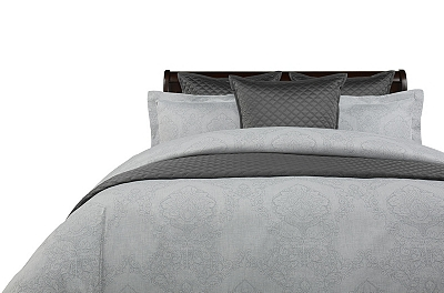 Elegance Smoke Duvet Ensemble