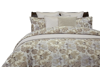 Smokey Floral Duvet Ensemble