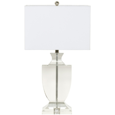 Superb Classic Crystal Urn Table Lamp