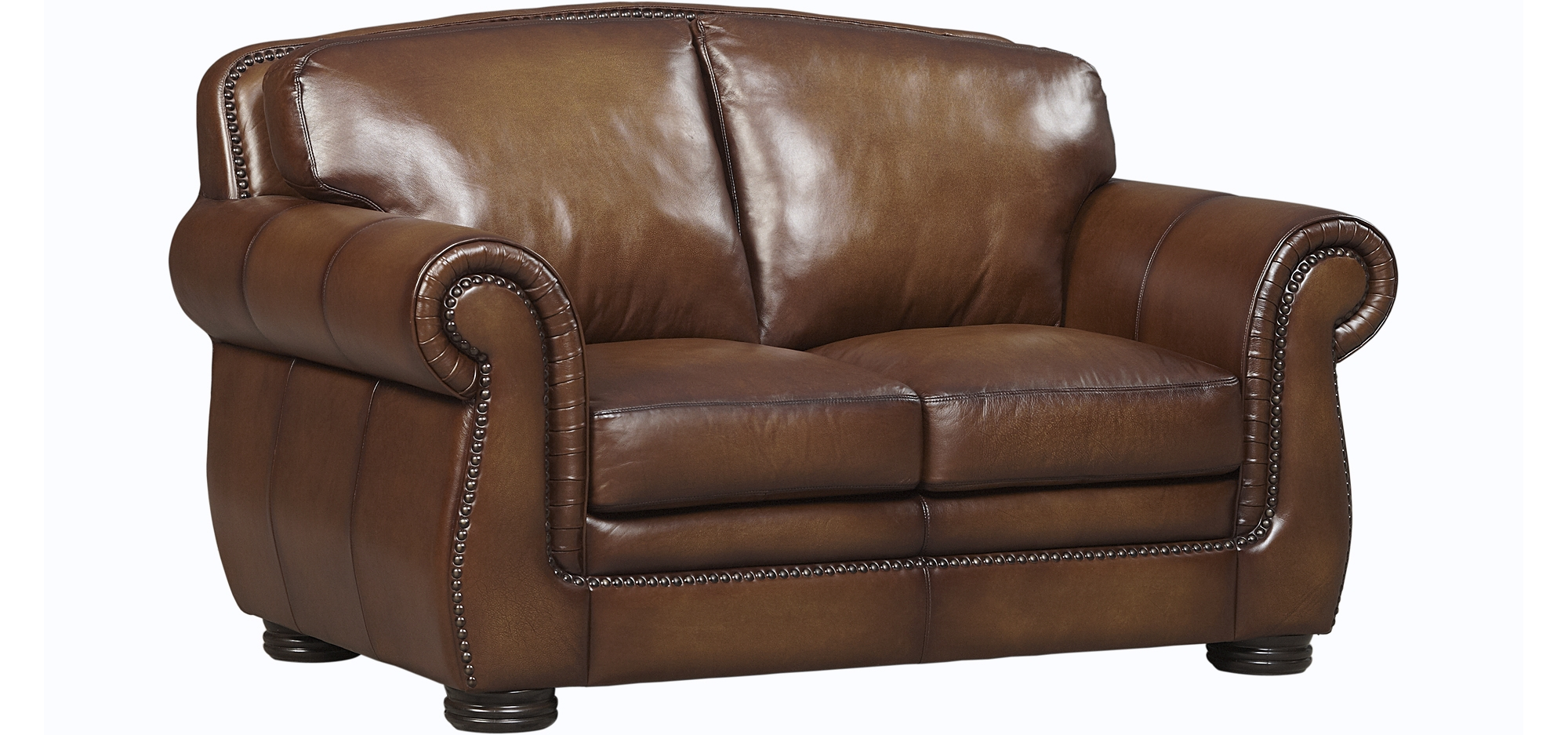 Loveseats In Leather Fabric Brown Beige More Havertys
