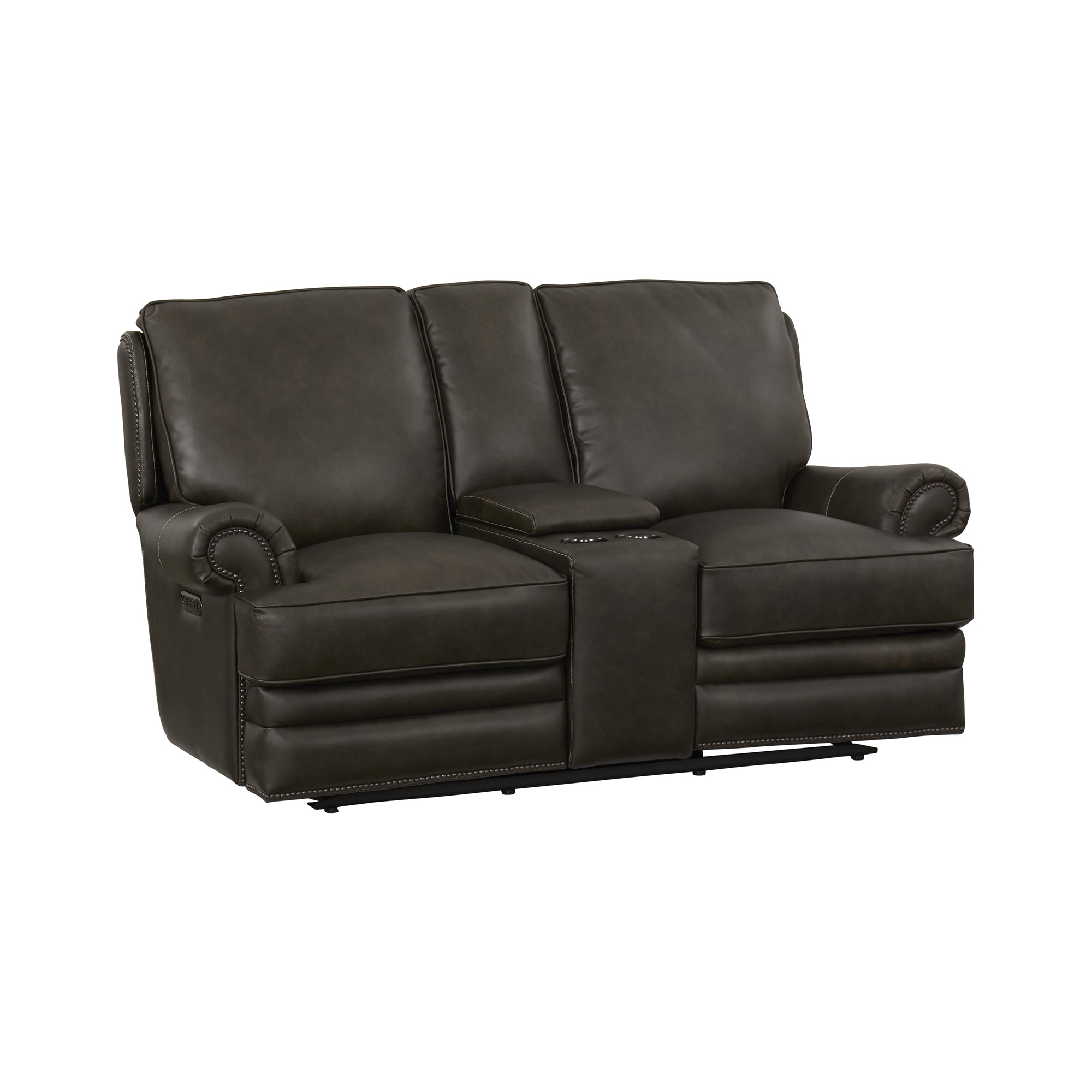 Ideas About American Heritage Used Leather Loveseat