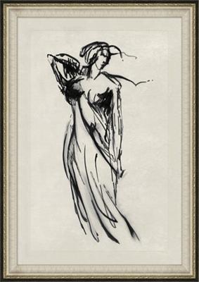 Classic Figure Framed Art II