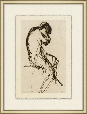 Figure Study Framed Art I
