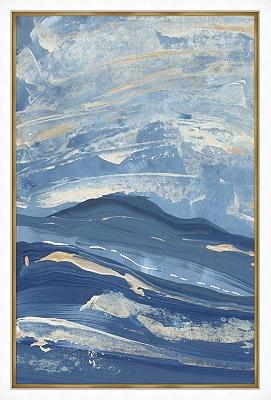 Waves Framed Art