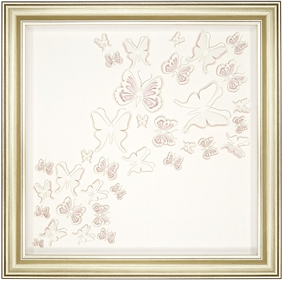 Butterflies Framed Art I