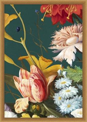 Baroque Bouquet Framed Art II