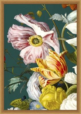 Baroque Bouquet Framed Art III