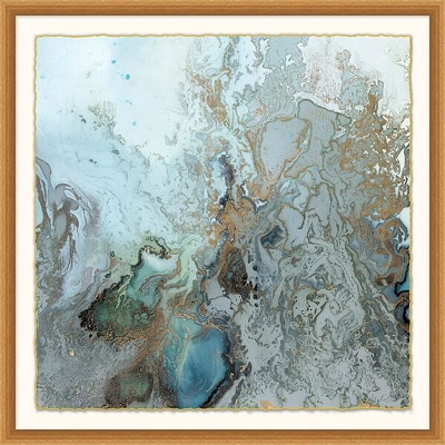 Fluidity Framed Art I