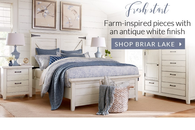 Fresh Start Rustic Farm Inspired With An Antique White Fininsh For A Refreshing