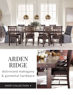 Ordinaire Shop Collection Arden Ridge: Distressed Mahogany And Gunmetal Hardware.