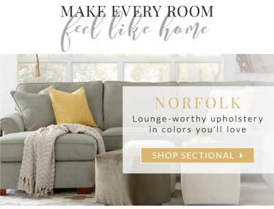 Norfolk: Lounge Worthy Upholstery In Colors Youu0027ll Love. Shop Sectional.