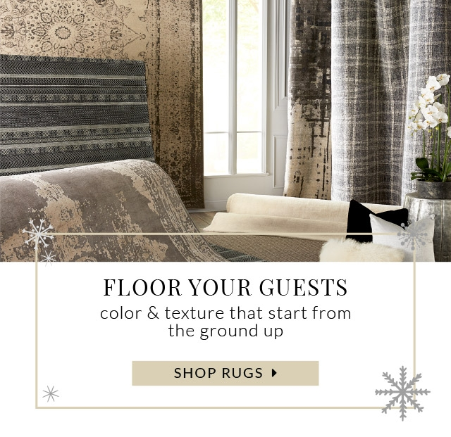 Rugs Floor Your Guests Color And Texture That Starts From The Ground Up