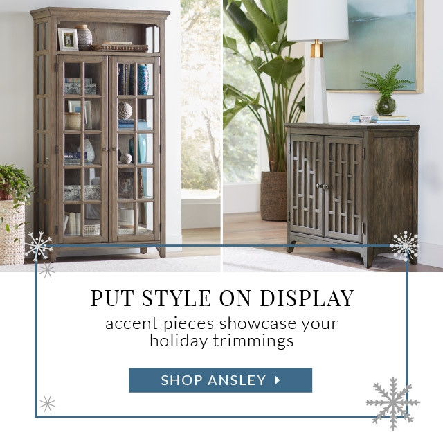 Put Style On Display Accent Pieces Showcase Your Holiday Ts Ansley