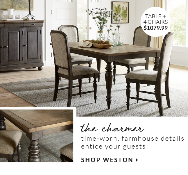Table 4 The Charmer Time Worn Farmhouse Details Entice Your Guests