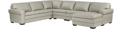 Merveilleux 5PC Sectional Reversed