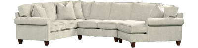 Charmant Floored Sectional