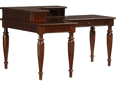desks for small spaces martin s landing l shaped desk havertys 13059