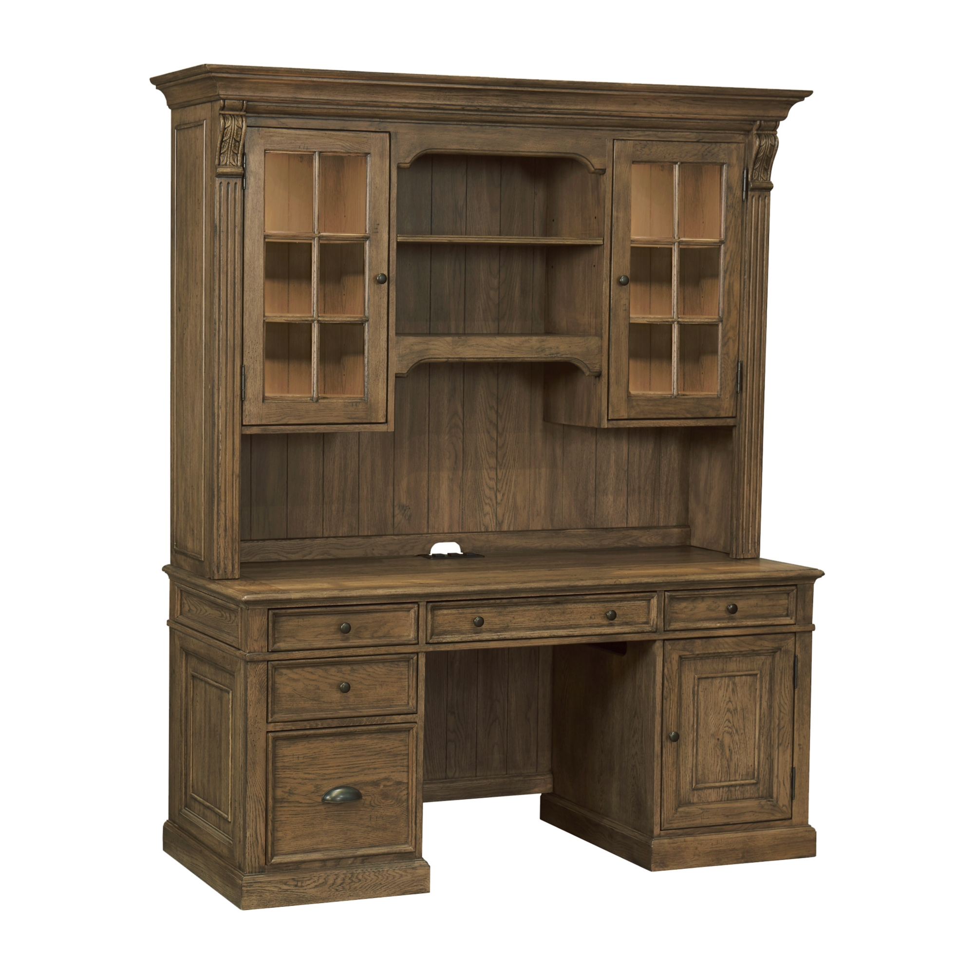 Main Avondale Desk With Hutch Image