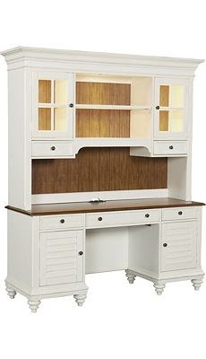 Newport Desk with Hutch