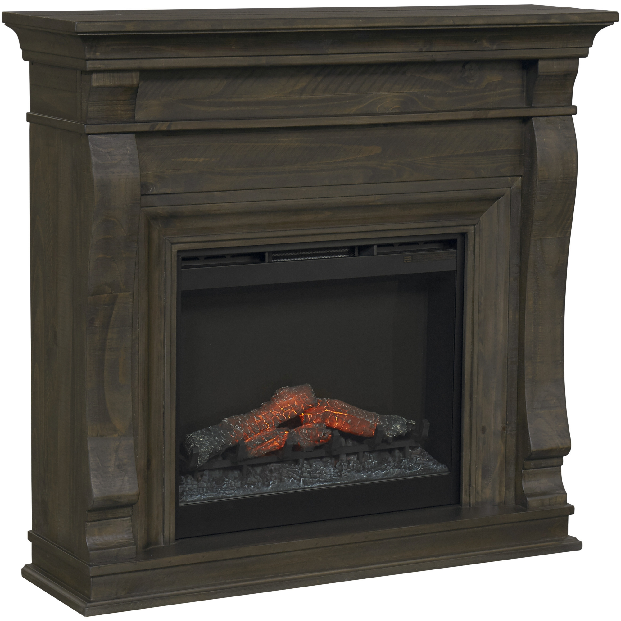 home ivory free fireplace blvd garden mantle harper electric with on gilbert product shipping