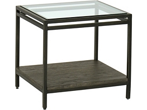 Keaton Bunching Table - Glass Top
