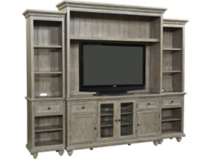 Entertainment Centers In Light And Dark Wood Havertys