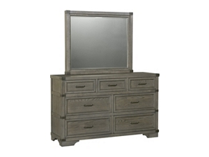 Dressers With Mirror In Dark And Light Wood Havertys