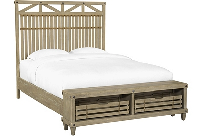 Artisan Cove Storage Bed