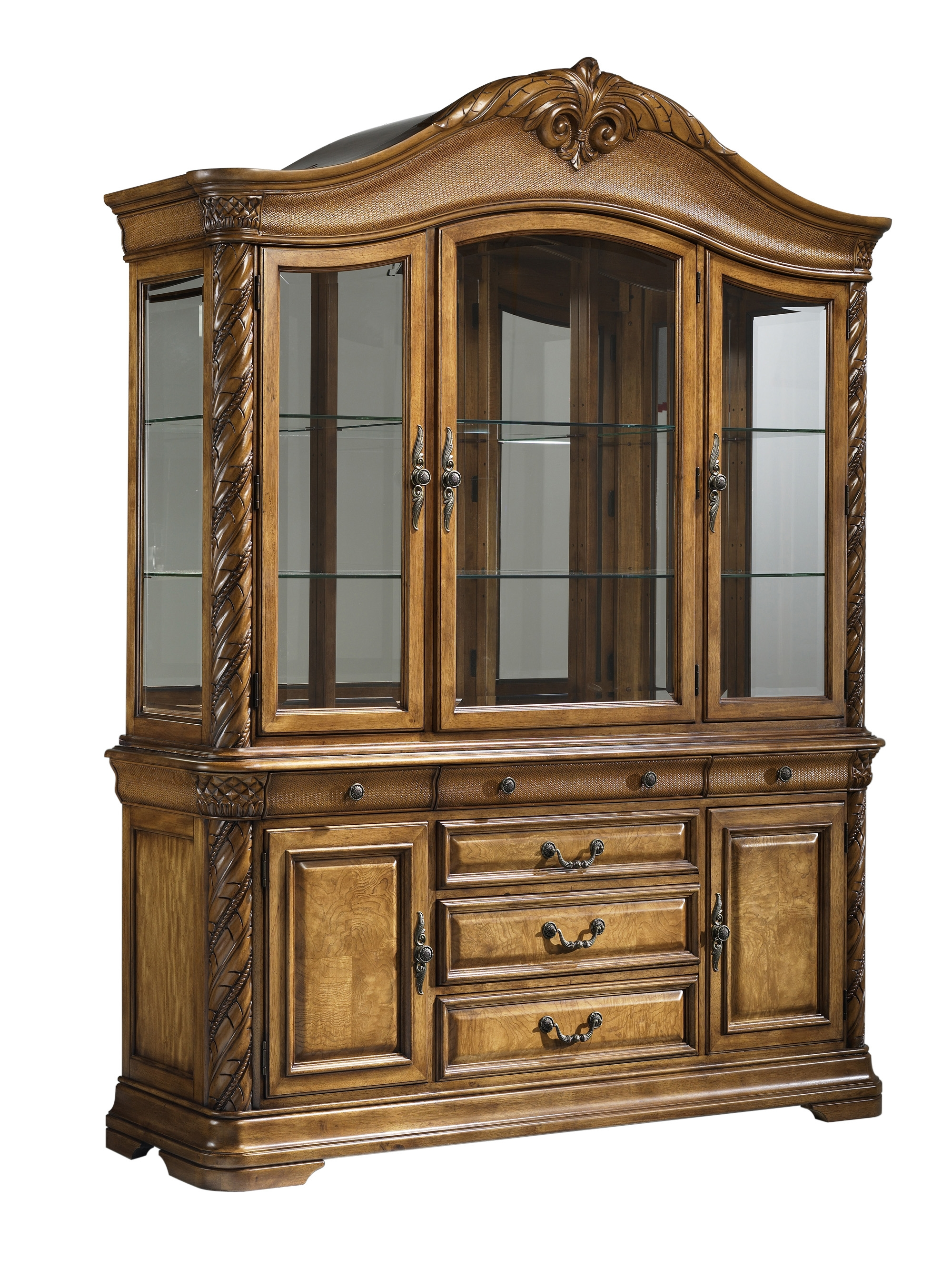 grand cayman china cabinet havertys