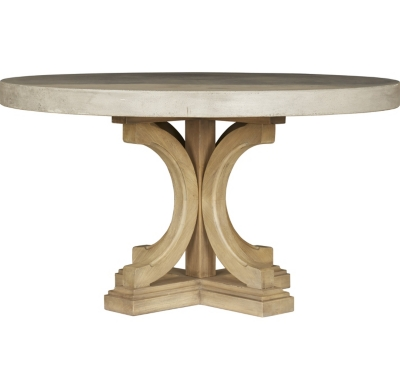 Main Lakeview Round Concrete Dining Table Image