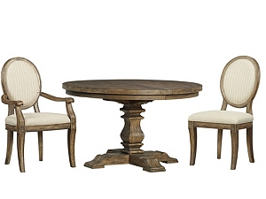 Avondale Round Dining Table Havertys - Oval dining table for 4