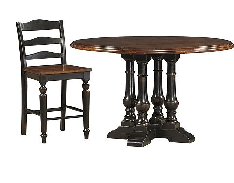 Logan Circle Counter Height Table Havertys