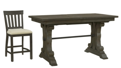 Beau Counter   Height Table With 4 Stools