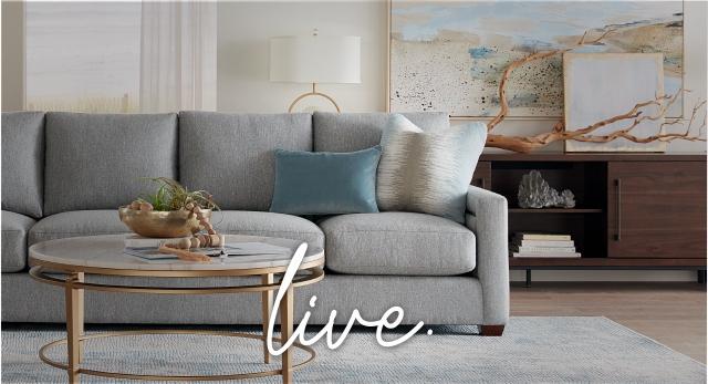 Havertys Furniture Custom Décor