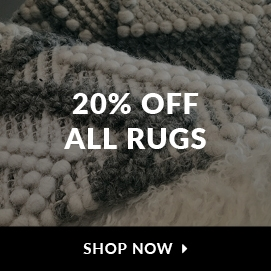 20% off all rugs. Shop now.