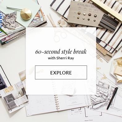 60 Second Style break with Sherri Ray