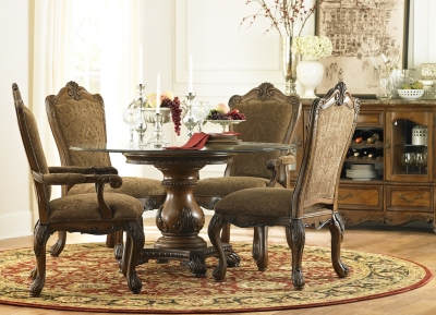 villa clare round dining table find the perfect style havertys rh havertys com