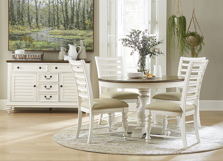 Newport Round Dining Table Find The Perfect Style Havertys