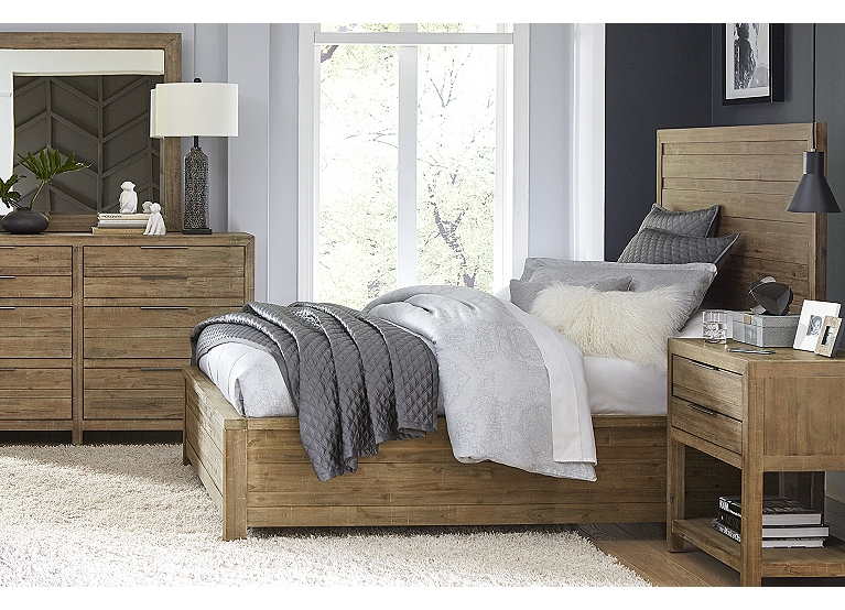 Astonishing Sherman Bed Find The Perfect Style Havertys Home Remodeling Inspirations Basidirectenergyitoicom